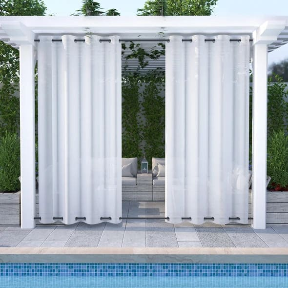 outdoor sheer curtains 120