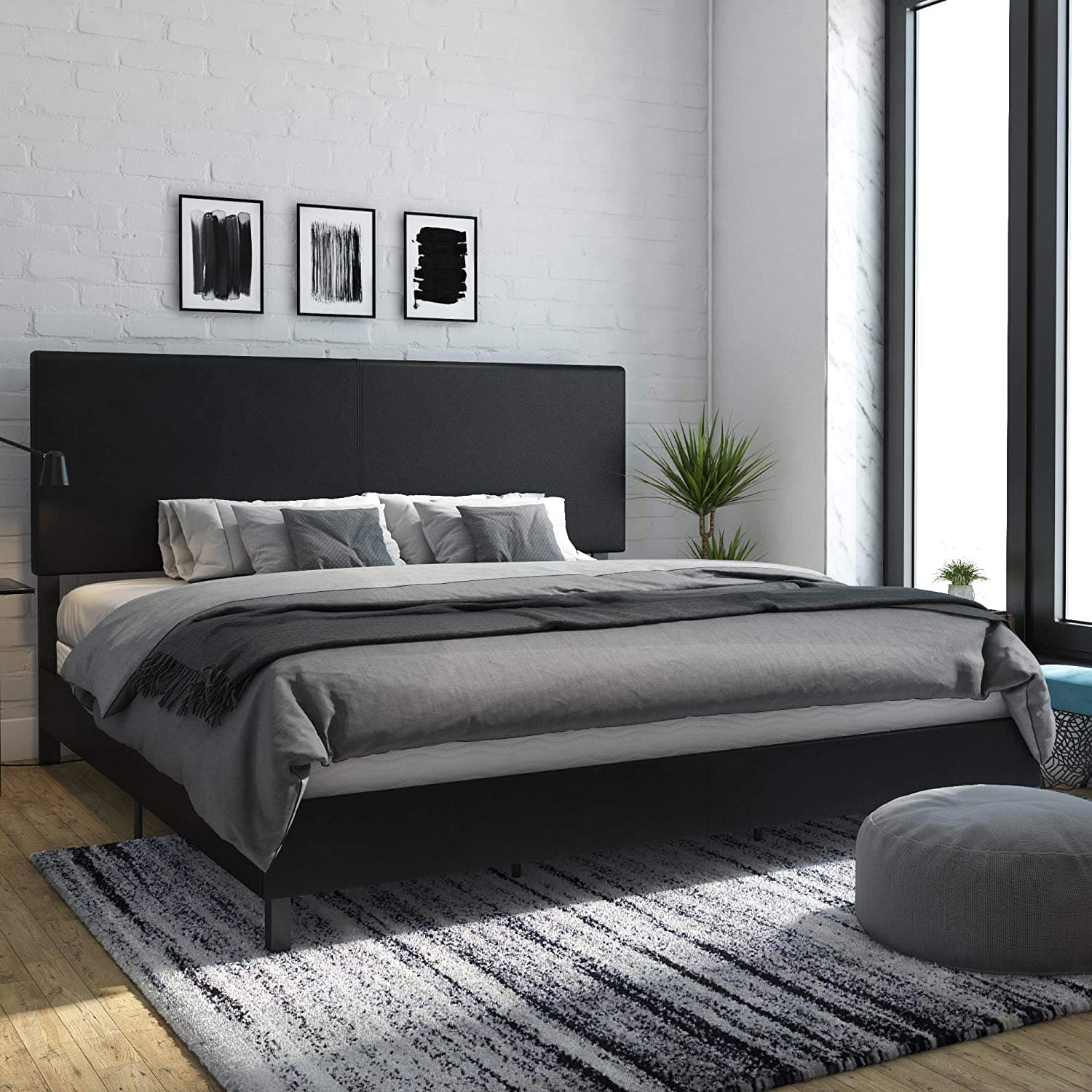 bed frame for box spring and mattress