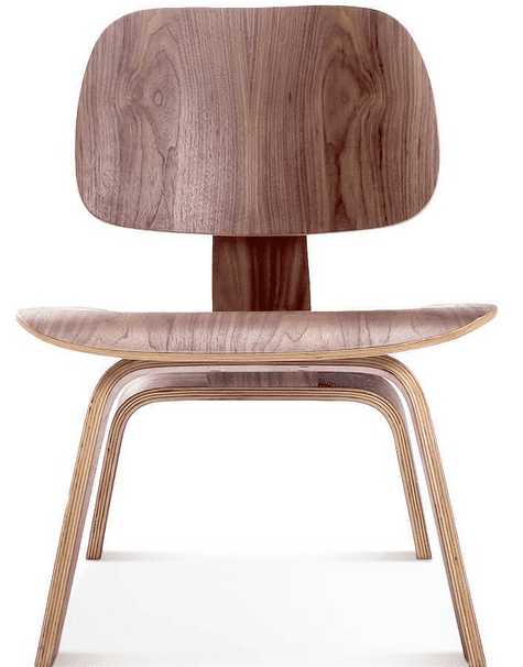 eames molded plywood lounge chair replica