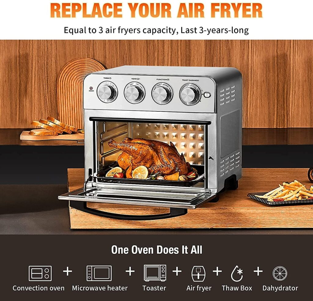 Geek Chef toaster oven and air fryer combo
